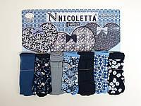Женские трусики недельки Nicoletta Турция 7шт. размер XL (46-48)  113709, фото 1