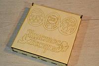 Деревянная пасхальная коробка для творчества.