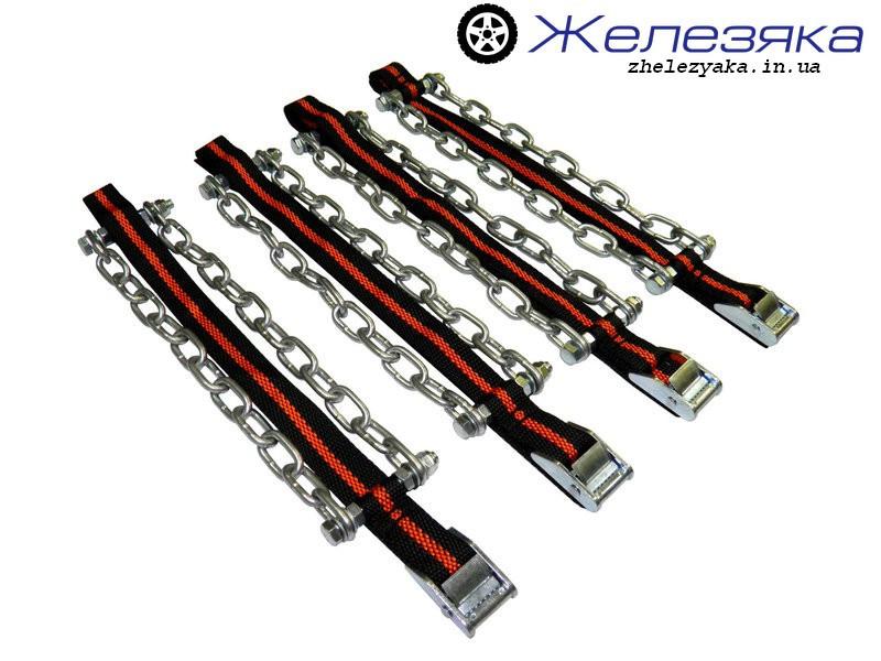 Цепи (браслеты) противоскольжения универсальные XL R16 (4 шт.)