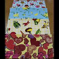 Кухонное полотенце (вафельные цветные)