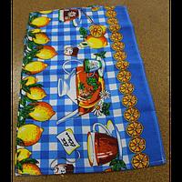 Кухонные полотенца (вафельные, яркие,цветные)