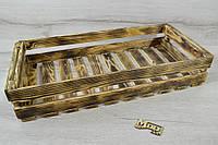 Ящик деревянный обжиг