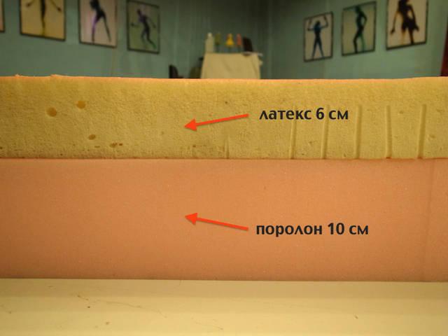 Латексные блоки, латексные листы. 1