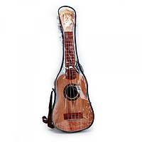 Гитара 898-12E, струны 4шт, медиатор, в чехле, 58-19-9см