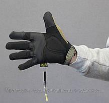 Тактические перчатки mechanix contra pro. - coyote XL (Mex-coyot-XL), фото 2