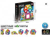 Магнитный конструктор Play Smart 14 деталей 2425