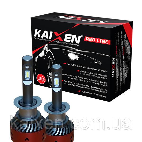 Светодиодные лампы H1 6000K Kaixen RedLine