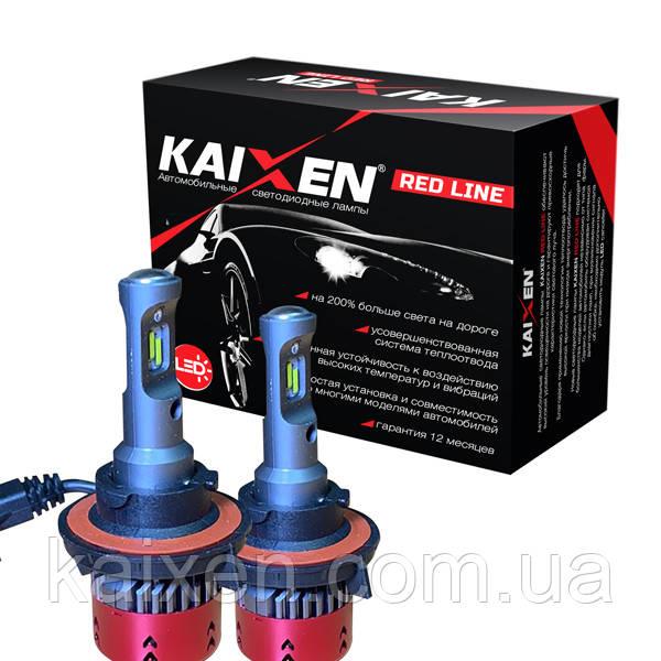 Светодиодные лампы H13 (bi-led) 6000K Kaixen RedLine