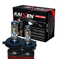 Светодиодные лампы H4 (bi-led) 6000K Kaixen RedLine