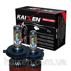 Світлодіодні лампи H4 (bi-led) 6000K Kaixen RedLine