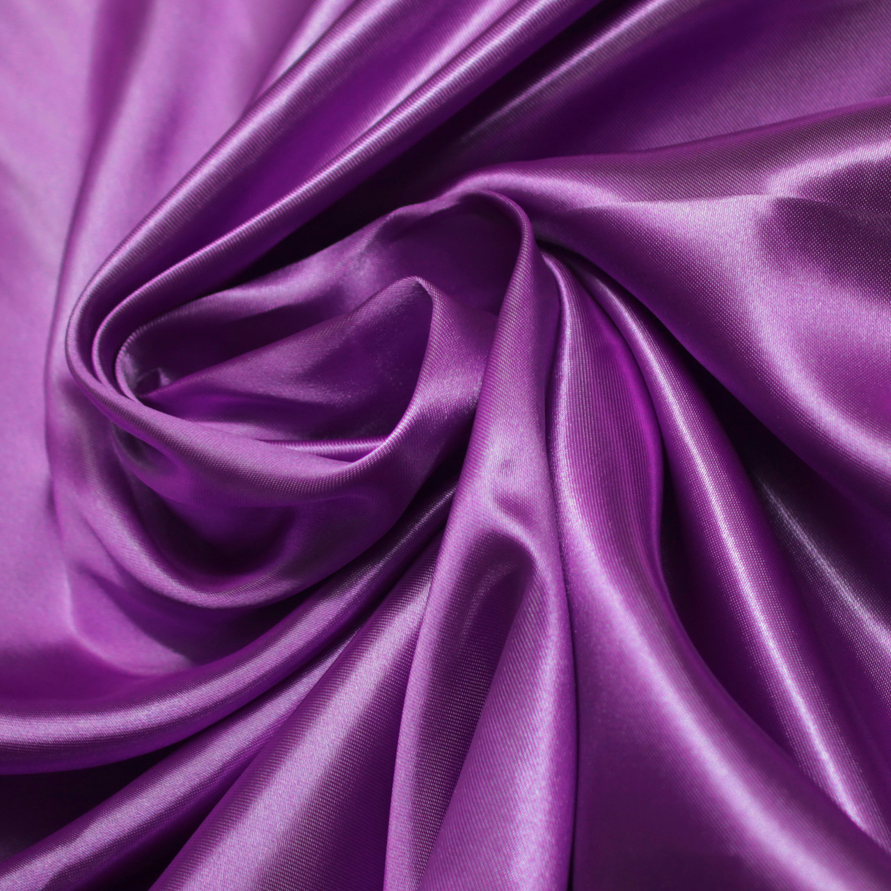 Ткань атлас фиолетовый