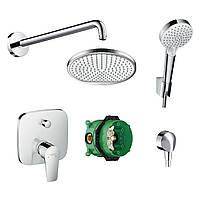 Набор смесителей для ванны скрытого монтажа Hansgrohe Talis E 71745222 хром