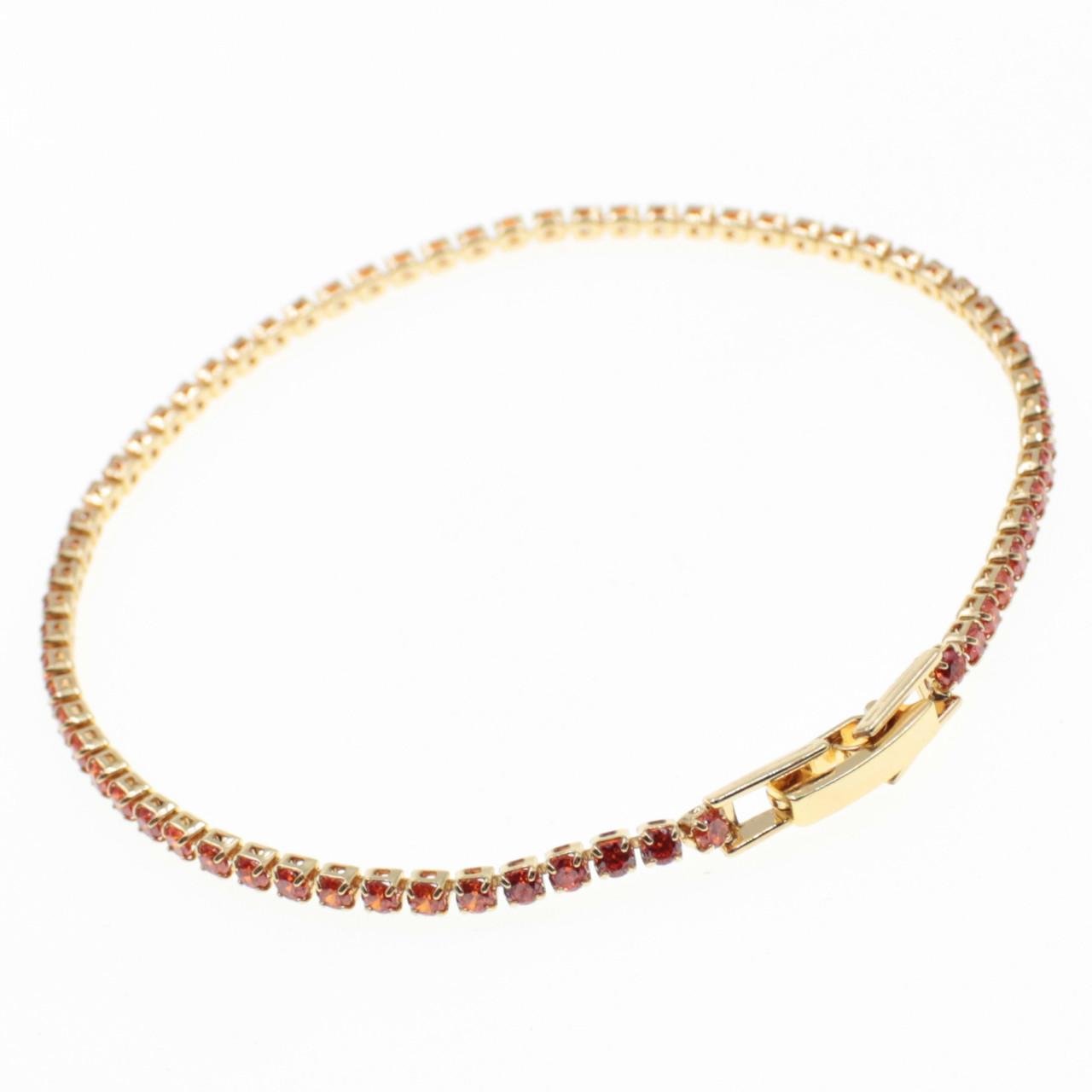"""Браслет женский  """" Aigerim gold lux """" L - 18 см"""