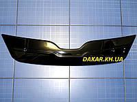 Зимняя заглушка решётки радиатора Skoda Rapid с 2012 глянец Fly. Утеплитель решётки Шкода Рапид, фото 1
