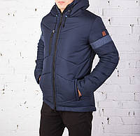 """Мужская зимняя куртка Pobedov Winter """"VP"""" Navy/Blue, фото 1"""