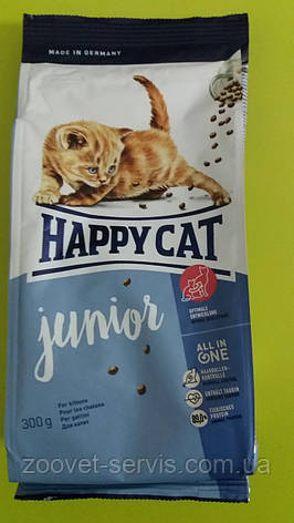 Сухой корм для котятHappy Cat Junior 300г, фото 2