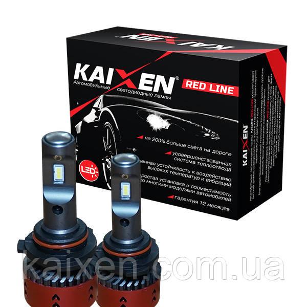 Светодиодные лампы 9006 (HB4) 6000K Kaixen RedLine