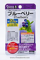 Черника Япония - для здоровья глаз (40 таблеток х 20 дней), фото 1