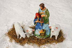 Рождественский вертеп (комплект №4)