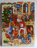 Шоколадные новогодние подарки картинки пазлы 75 гр Gunz Германия