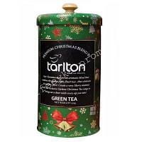 "Tarlton GP1 ""Premium Christmas Blend"" Green Tea, ""Зелёный Бархат"" 150 гр. ж/б."