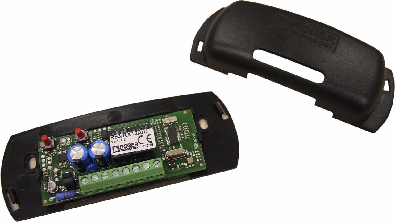 Roger R93/RX12A/U - Внешний 2х-канальный радиоприемник, в пластиковом корпусе