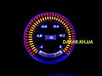 Тюнинговый автомобильный прибор Ket Gauge LED 9906 вакуум, фото 1