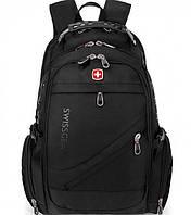 Рюкзак Swissgear 8810, дождевик в комплекте, 39 л, USB выход