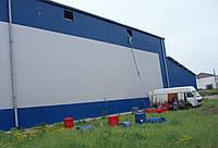 Утепление, теплоизоляция овощехранилищ, холодильных камер, жилых домов, гаражей напыляемым пенополиуретано