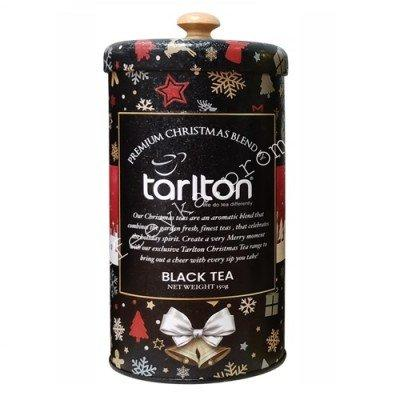 "Tarlton Fbop  ""Premium Christmas Blend"" Чёрный Бархат с Бергамотом (Эрл Грей) 150 гр. ж/б."