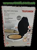 """Электрическая вафельница (электровафельница) """"Telefunken"""" Classic"""