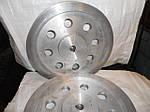 Изготовление шкивов клиновидного профиля для ременных передач, из алюминия,чугуна,стали.