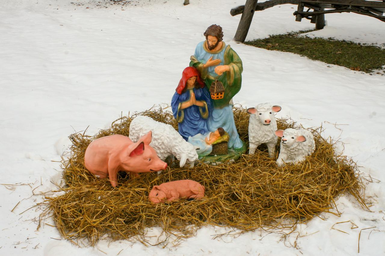 Різдвяний вертеп (комплект №6)