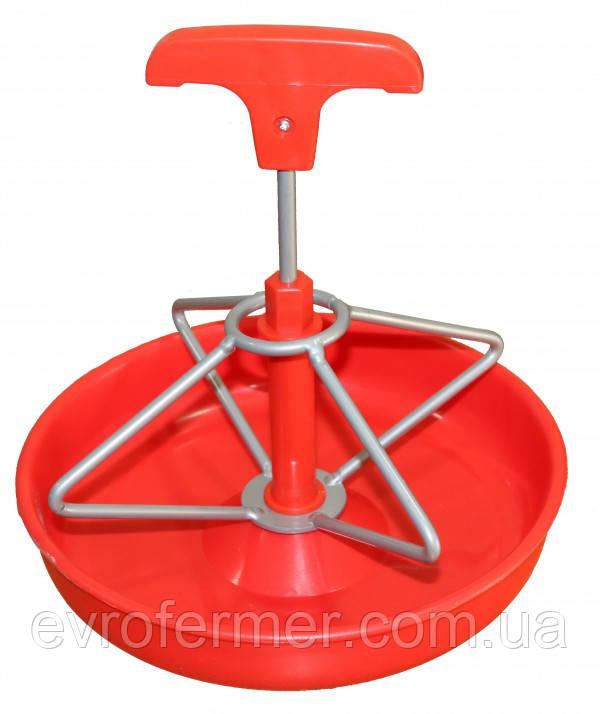 Пластиковая мисочная кормушка для подсосных поросят
