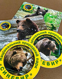 Рекламные фотомагнитики для природного парка 1