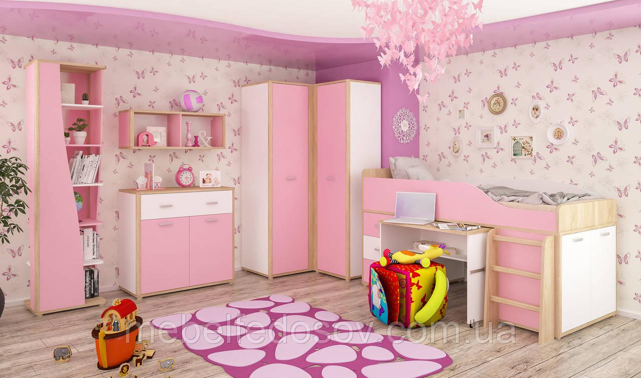 Набор для детской №3 Лео  (Мебель-Сервис)