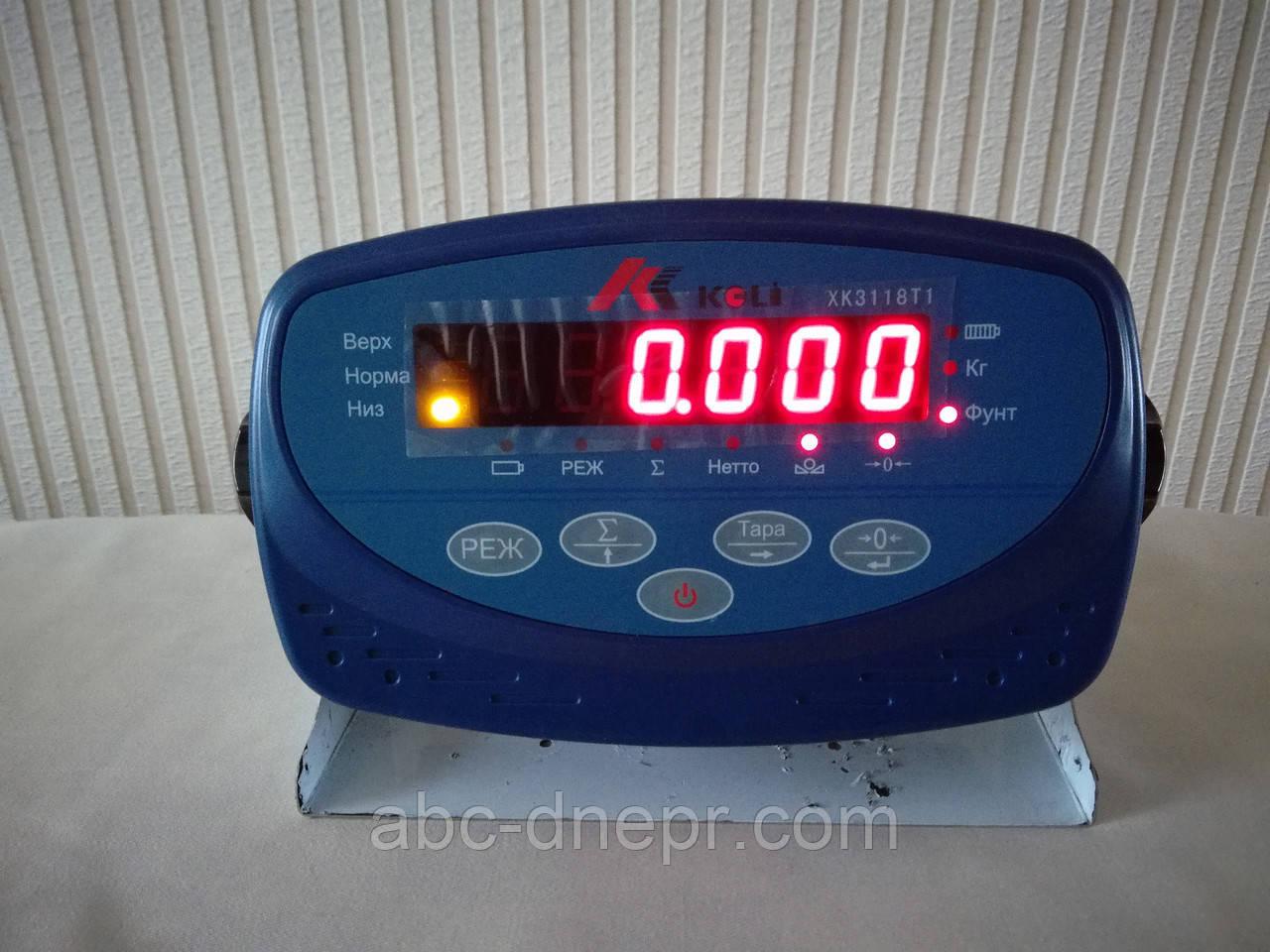 Весовой прибор Keli XК3118T1