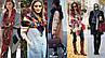 Комфортный шарф в полоску от Zara  AS1849187, фото 3