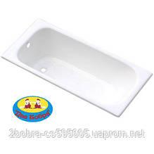 Ванна Чугунная Classic ZYA-8-5 | 150x70x45 cм. Goldman