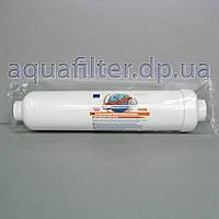 Угольный постфильтр для воды Aquafilter AICRO (с резьбой под фитинги), фото 1