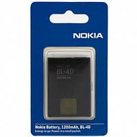 Nokia Аккумулятор Nokia BL-4D 1200 mAh E5-00, N97 mini, Fly TS100 AAA класс