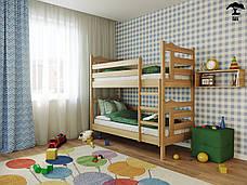 Двухъярусная кровать Санта 80х190 см ТМ Лев Мебель, фото 2