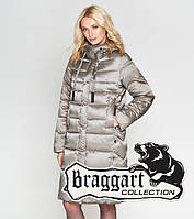 Braggart Angel's Woman 29775  Женский зимний воздуховик бежевый