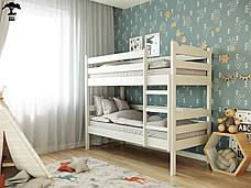Двох'ярусне ліжко Мілена-2 80х190 см ТМ Лев Меблі, фото 3