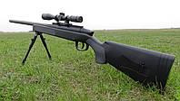 ТОП! Снайперська гвинтівка zm51, дитяча рушниця на сошках, дитяче зброю, гвинтівку з прицілом, фото 1