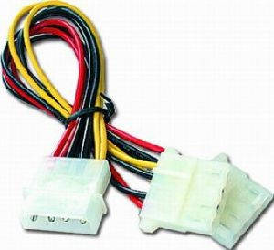 Разветвитель питания MOLEX 4-Pin 1-to-2,CC-PSU-1, фото 2