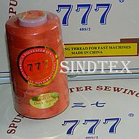 """034 Нитки """"777""""  швейные цветные 40/2 4000ярдов (от 6 бобин)"""