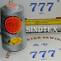 """099 Нитки """"777""""  швейные цветные 40/2 4000ярдов (от 6 бобин)"""