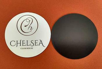 Рекламные магнитики круглой формы. Диаметр 68 мм 2