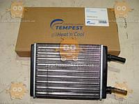 Радиатор отопителя Волга 2410, 3102, 31029, ф16мм алюминевый (пр-во TEMPEST Тайвань)